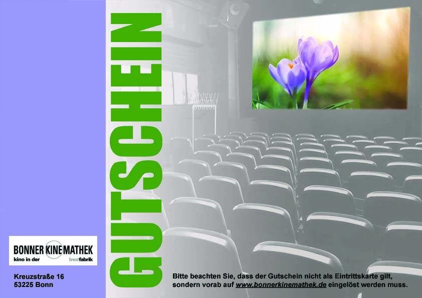 Frühling-Kino-Gutschein